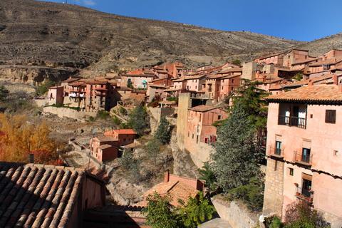 Albarracín - Aragon Städte und Dörfer