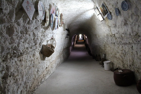 Alcala de Jucar Verbindungsgang in der Cuerva de Diabolo