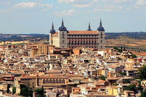 Alcazar in Toledo Städte und Dörfer