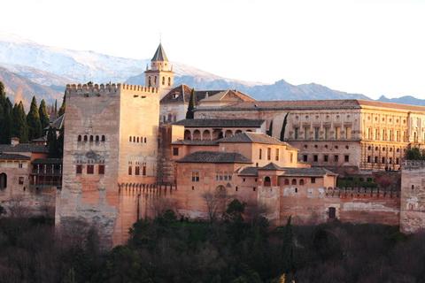 Alhambra Granada Städte und Dörfer