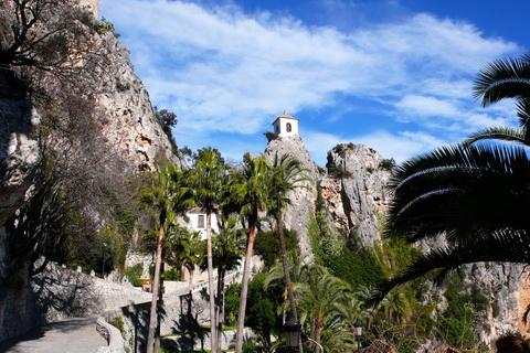 Aufgang zur Altstadt Guadalest Städte und Dörfer
