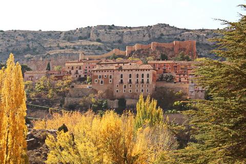 Burganlage in Albarraín 480x320