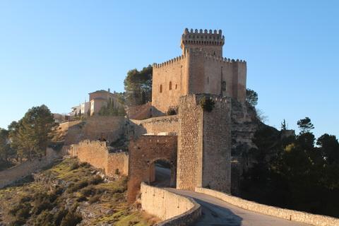 Festung von Alarcon Städte und Dörfer