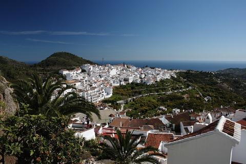 Frigiliana Andalusien Städte und Dörfer