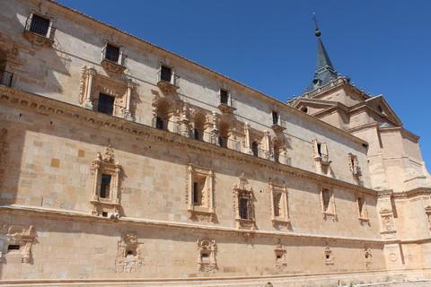 Kloster Uclés Außenfassade Städte und Dörfer