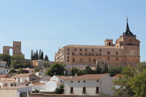 Kloster in Uclés Städte und Dörfer