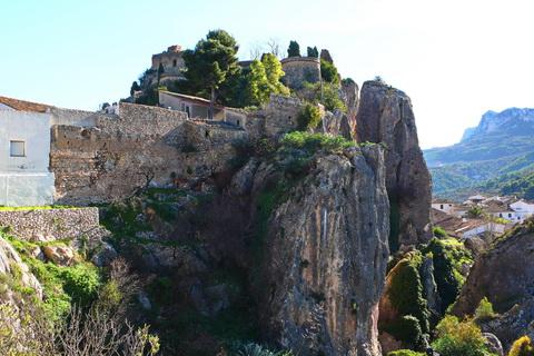 Maurische Festung San-José Guadalest Städte und Dörfer