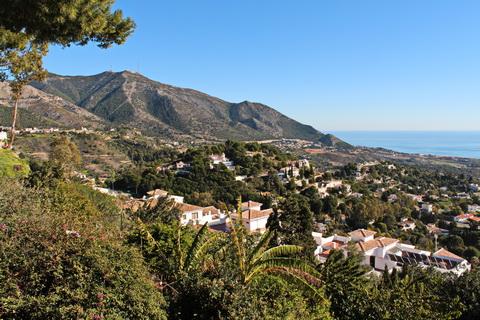 Mijas Aussicht auf die Costa del Sol Städte und Dörfer