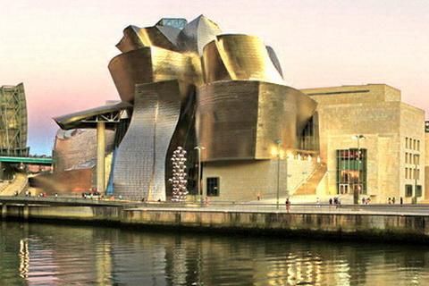 Moderne Architektur Guggenheim-Museum Bilbao