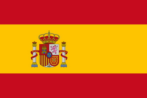 Offizielle Spanien Flagge seit 1981