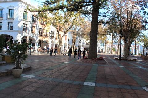 Plaza in südspanischer Stadt Spanien