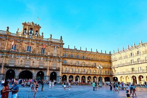 Rathausplatz in Salamanca