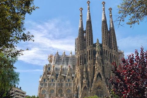 Sagrada Familia in Barcelona Städte und Dörfer