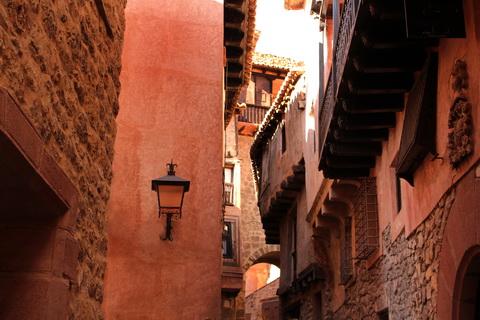 Schmale Gassen in der Altstadt Albarracín 480x320