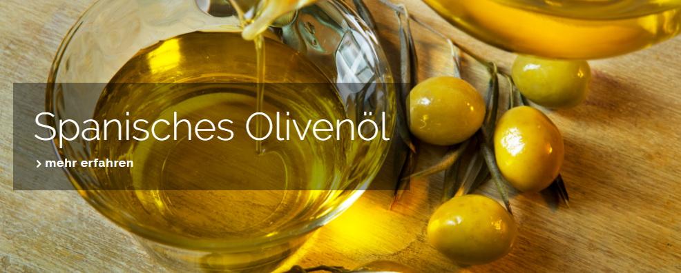 Spanisches Olivenöl Mittemeer