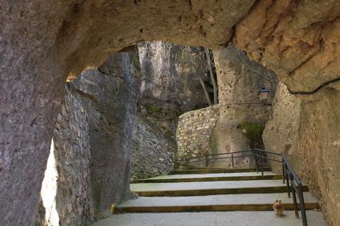 Fußweg zur Altstadt, Cuenca