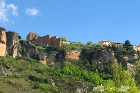 restaurierte Ruine der maurischen Burg Kunka, Cuenca 480x320