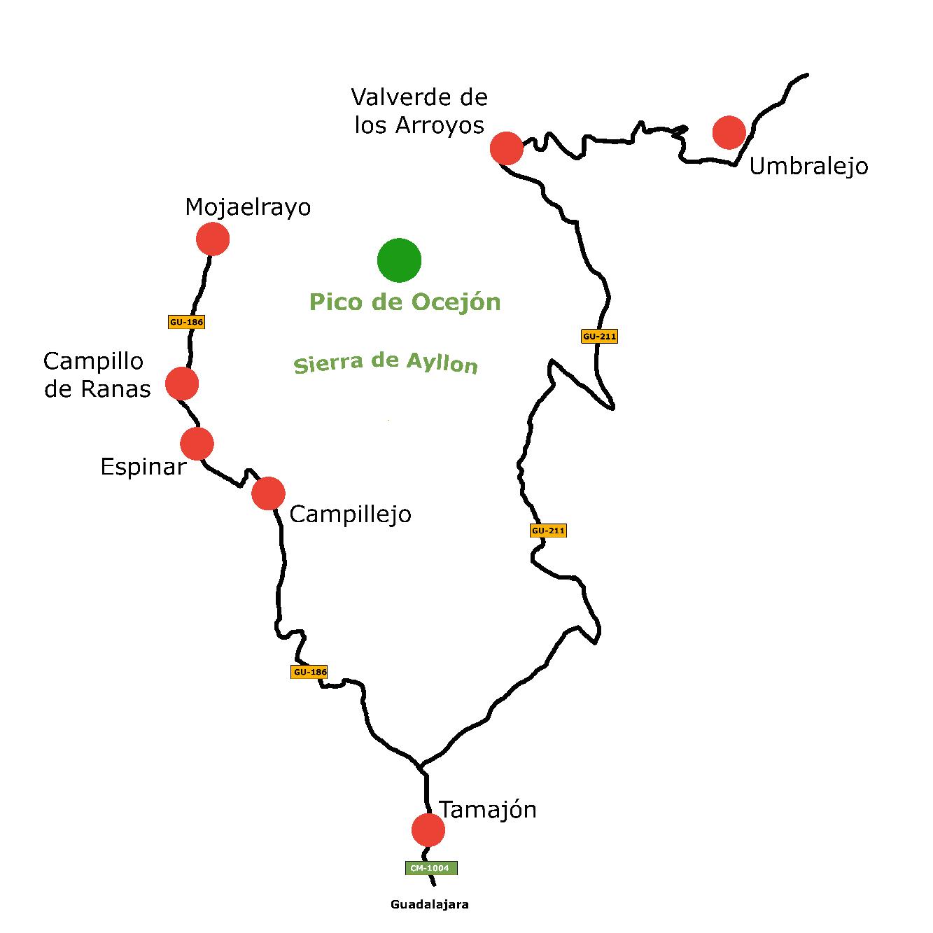 Die Route der schwarzen Dörfer, die schwarzen Dörfer, transparent 800x800