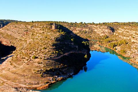 Flusstal in Zentralspanien Landschaften und Natur
