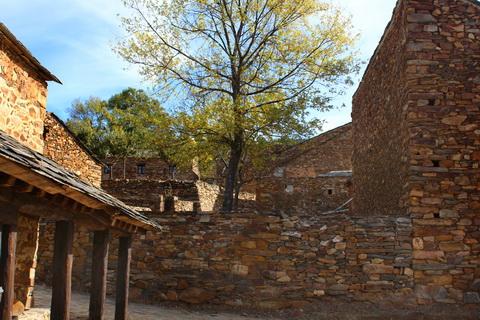 Häuser in Umbralejo die schwarzen Dörfer 480x320