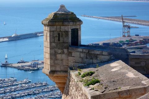 Hafen von Alicante Spanien