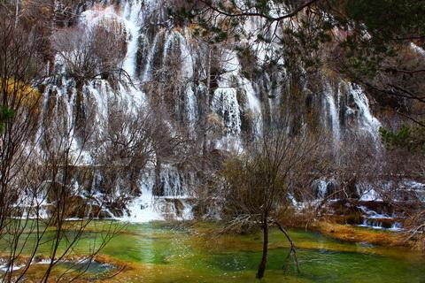 Naturlandschaft in Spanien