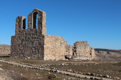Römische Ruinen in Castilla la Mancha Spanien
