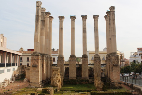 Römischer Tempel in Cordoba Spanien