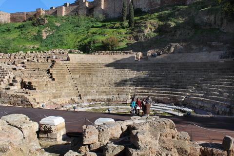 Römisches Theater in Malaga Spanien
