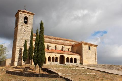 Tamarón Iglesia de la Asuncion die schwarzen Dörfer 480x320